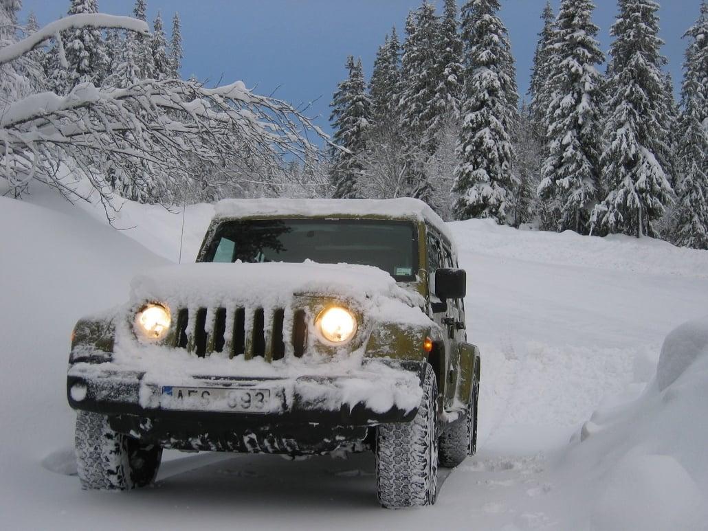 Sneeuw rijden